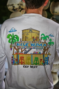 """Picture of """"Blue Heaven Bar"""" Long Sleeve"""