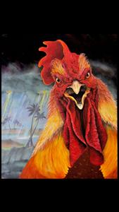 "Picture of ""FRANKENCOCK"" 8x10 by Award Winning local Key West Artist Jimm Sherrington"