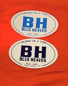 Picture of Blue Heaven Bumper Stickers
