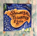Picture of Blue Heaven Shower Tile by Abigail White