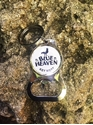 Picture of Blue Heaven Bottle-Opener Key Chain