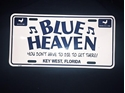 Picture of Blue Heaven License Plate
