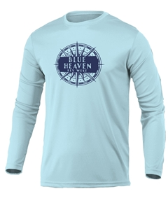 Picture of Compass Long Sleeve Swim Polyester